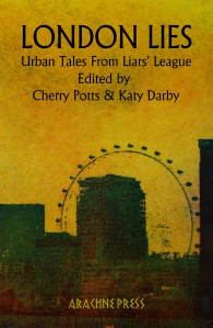 London Lies Cover. Image copyright Karen Keogh