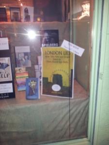 Clapham Books Window display