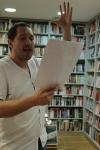 Bertie Carvel reading Red