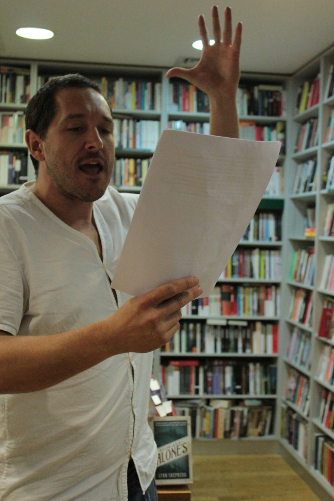 Bertie Carvel reading Red