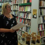 Carrie Cohen reading The Suitcase