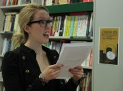 Danielle Fenemore reading Are We Nearly There Yet?