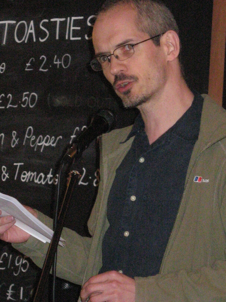 Liam Hogan reads from RAT
