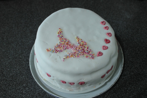 Lop-sided Liars' Cake