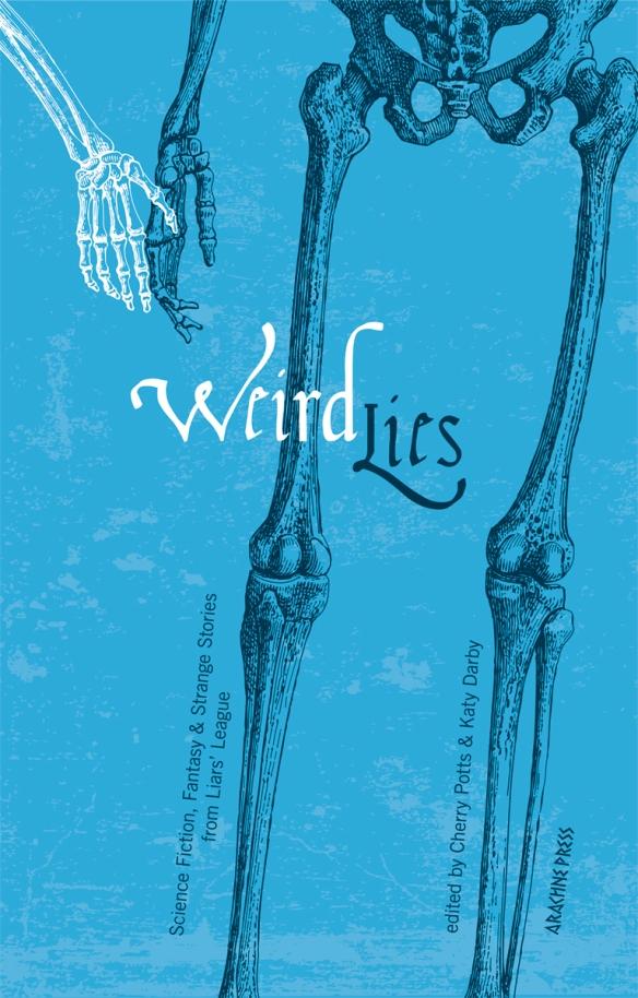 Weird Lies Cover copyright Kevin Threlfall