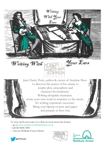 writing with your ears flyer