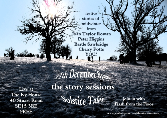 december story sessions A6 flyer