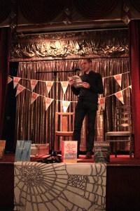 Peter Higgins on Stage