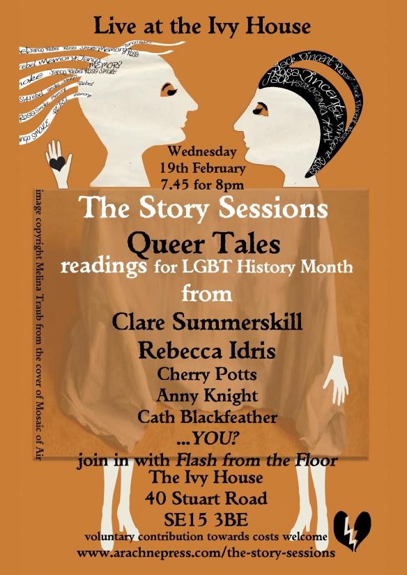 Queer Tales flyer