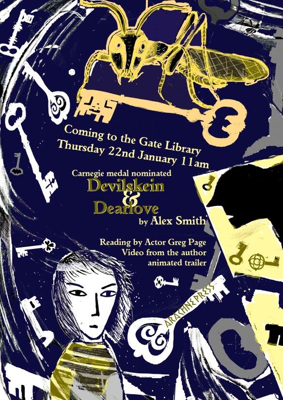 Devilskein Dearlove event poster copy