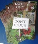 dont touch garden books