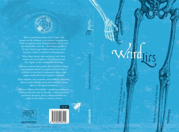 Kevin Threlfall-Weird Lies cover design-artwork-v2