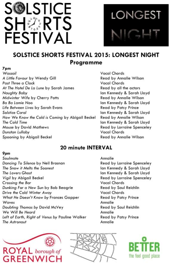 longest night programme