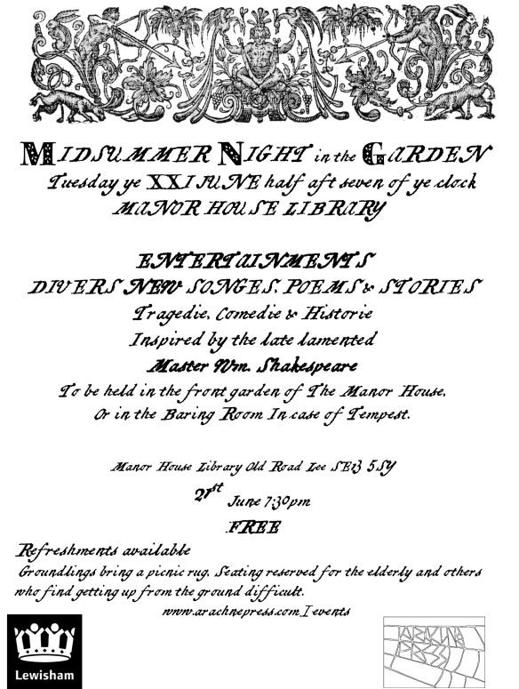 midsummer flier copy