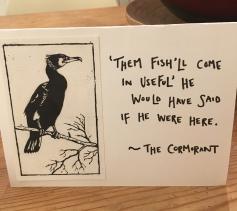 cormorant - fish