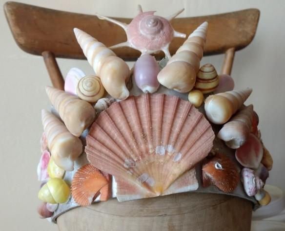 shell headdress